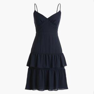 J. Crew Spaghetti Strap Cha-Cha Mini Dress